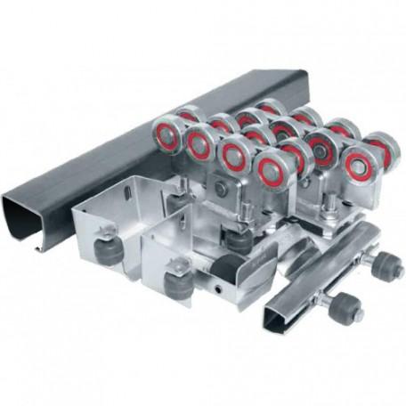 Ролтэк ЕВРО комплектующие для откатных ворот до 800 кг (6м)