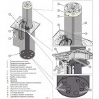 FAAC J200HA600 KIT боллард гидравлический