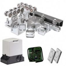 РОЛТЭК комплектующие для ворот до 500 кг (6 м.) + автоматика FAAC 740