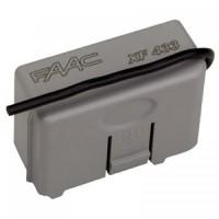 FAAC XF 433 МГц радиоприемник 2-канальный